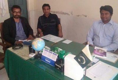 Doctor Itmar's office at BHU  Amrit Nagar