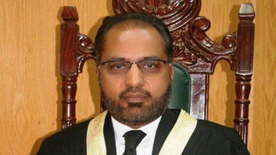 Justice Shaukat Aziz Siddiqi
