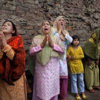 Kashmiri Women Crying
