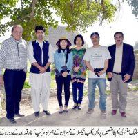 Korean Delegation at Taxila Museum