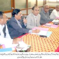 Mohammad Saleem Raza Meeting