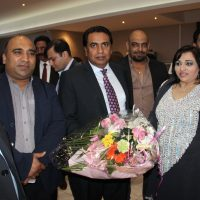 Afzal Bhatti,and Shaheen Butt-France Visit
