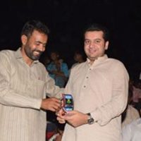 Amir Hayat Hiraj with A.D.Sahil Munir