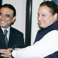 Asif Ali Zardari and Nawaz Sharif