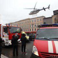 Blast in St Petersburg