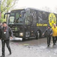 Germany Football Bus-Bombing