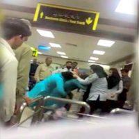 Islamabad Airport-Passenger Violence