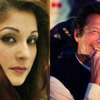 Maryam Nawaz and Imran Khan
