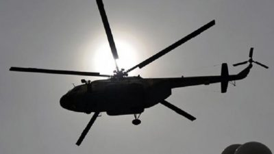 Military Helicopter Fall