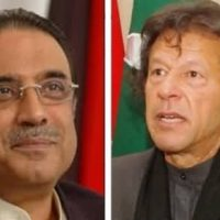 Asif Ali Zardari and Imran Khan
