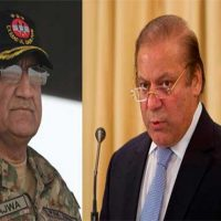 General Qamar Javed Bajwa and Nawaz Sharif