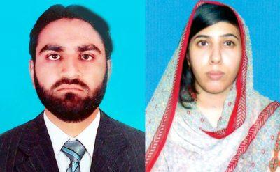 Ishtiaq Anwar and miss Anam Altaf