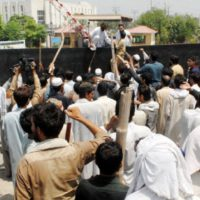 Load Shedding Protest