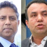 Mahmood Kashmiri and Asif Masood Chaudhry
