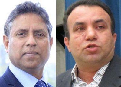 Mahmood Kashmiri and Asif Masood Chaudhry