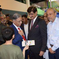 Murad Ali Shah-Visit