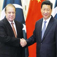 Nawaz Sharif and Xi Jinping