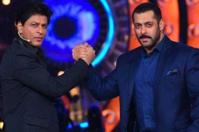 Shahrukh Khan and Salam Khan