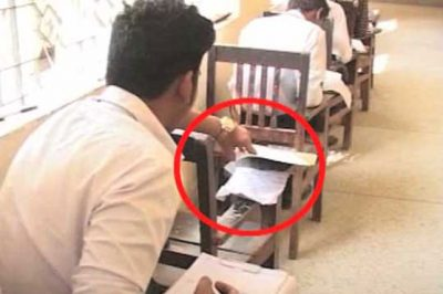 Students Copying in Exams