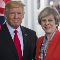 Trump and Theresa