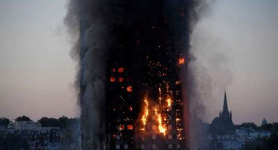 London Building Fire