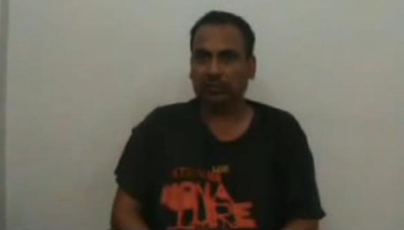MQM (Altaf) Ajmal Pahari Target Killer Interrogation (پاکستان زندباد)