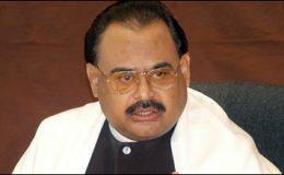 کراچی : عدم استحکام کی سیاست نہیں چاہتے۔ الطاف حسین