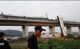 چین ٹرین تصادم میں ہلاکتیں 35 ہوگئیں