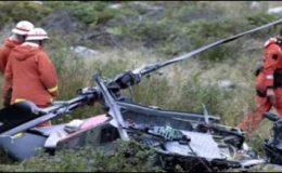 تھائی لینڈ ہیلی کاپٹر حادثہ، 9فوجیوں کی لاشیں بر آمد