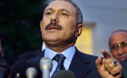 یمن : صدر علی عبداللہ صالح کی جلدواپسی کے اعلان پر قبائلیوں کا جشن