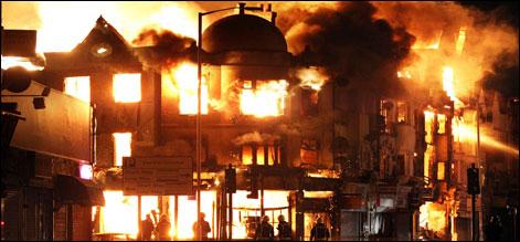 برطانیہ میں فسادات: متاثرہ علاقوں میں بزنس فنڈ قائم کردیا گیا