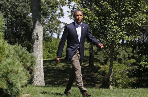 امریکا : مسٹر قذافی کی حکومت ختم ہو رہی ہے۔ اوباما