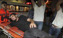 غزہ : اسرائیلی بمباری میں تین افراد شہید ہو گئے