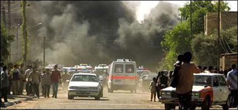 عراق: بم دھماکوں میں 65 افراد ہلاک 75 زخمی