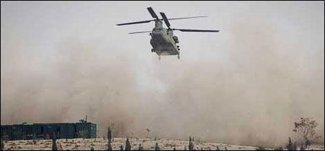کابل:نیٹو ہیلی کاپٹر تباہ،38 فوجی ہلاک