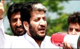 سرینگر:بھارتی مظالم کیخلاف احتجاج، حریت رہنما شبیرشاہ گرفتار