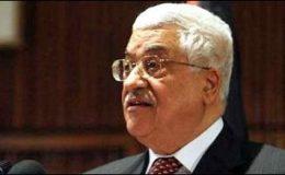 اقوام متحدہ میں درخواست، محمود عباس کا وطن واپسی پراستقبال