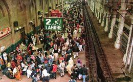 ریلوے شیڈول بدستور خراب، ٹرینیں چھے سے بارہ گھنٹے لیٹ