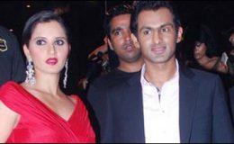 بھارتی ٹینس اسٹارثانیہ اور شعیب ملک کراچی پہنچ گئے