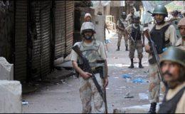 کراچی : عزیز آباد بھنگوریہ گوٹھ میں چھاپہ، متعدد افراد زیرحراست