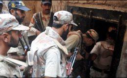 کراچی : گودھرا اور لیاقت آباد میں آپریشن، متعدد افراد گرفتار