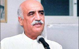 خورشید شاہ کراچی، کوئٹہ پارلیمانی کمیٹی کے سربراہ منتخب