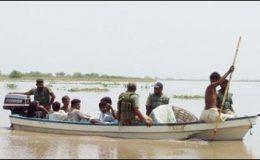 سندھ کے سیلاب زدہ علاقوں میں پاک نیوی کا آپریشن مدد جاری