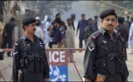 پشاور میں دہشتگردی کے خدشات کے پیش نظر سیکیورٹی سخت
