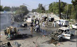 کوئٹہ : دو خودکش حملوں میں پچیس افراد جاں بحق، پچپن زخمی