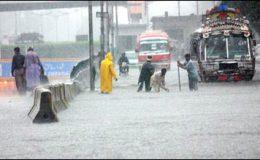 کراچی میں بارش کا سلسلہ دوبارہ شروع