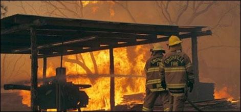 امریکی ریاست ٹیکساس میں لگی آگ پرقابو نہیں پایا جاسکا