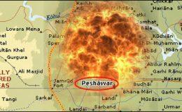 پشاور: رامپورہ میں دھماکا، گیارہ افراد زخمی