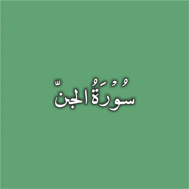 72-Surah Al Jinn with Urdu Translation