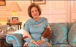 بے نظیر قتل کیس: صہبا مشرف کے پیش نہ ہونے پر آخری تنبیہہ